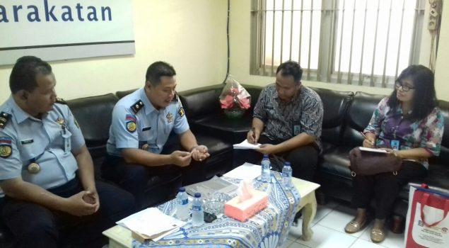 Peneliti Balitbang Gali Informasi Bantuan Hukum di Rutan Jakpus