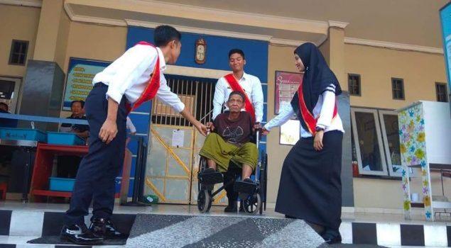 Lapas Mataram Buka Layanan Kunjungan Khusus Lansia & Disabilitas