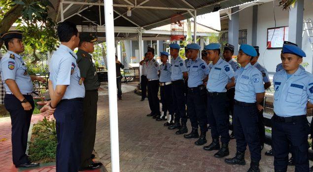 Petugas & WBP Lapas Narkotika Sungguminasa Silaturahmi dengan Dandim 1409/Gowa