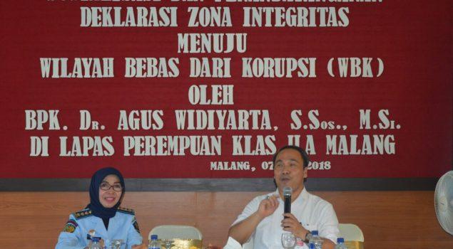 Kedatangan Ombudsman Jatim Bekali LPP Malang Menuju WBK