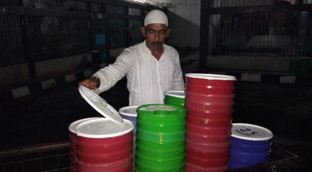 Karutan Jantho Pantau Pembagian Makanan Sahur WBP