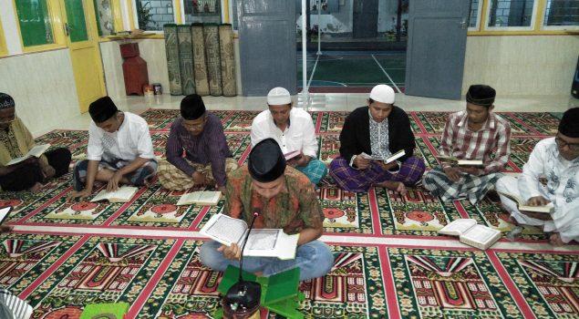 Usai Witir, WBP Rutan Bantaeng Tadarus Bersama