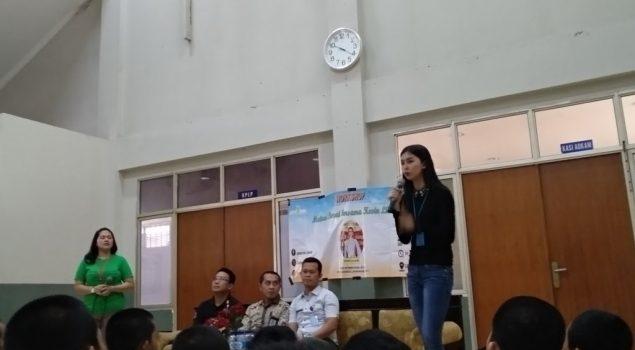 Miss Internasional 2017 Memotivasi Anak LPKA Jakarta