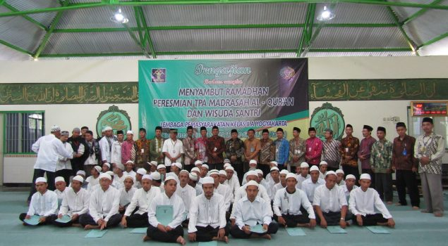 Lapas Yogya Resmikan Madrasah Al Fajar & Mewisuda Santri WBP
