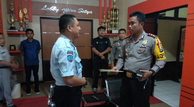 Karutan Bantaeng Koordinasikan Kamtib dengan Polres & Kodim Bantaeng
