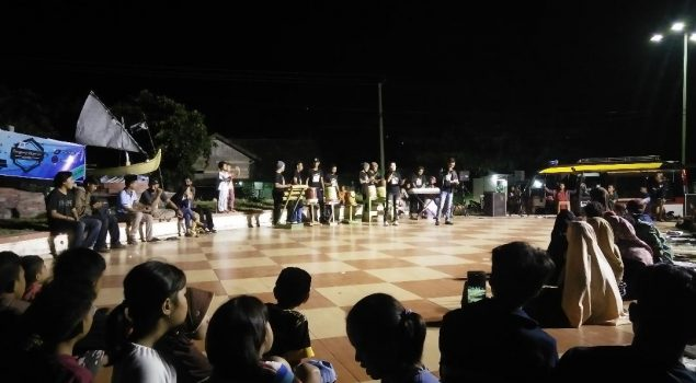 WBP Rutan Majene Tampil di Panggung Ekspresi Pegiat Literasi