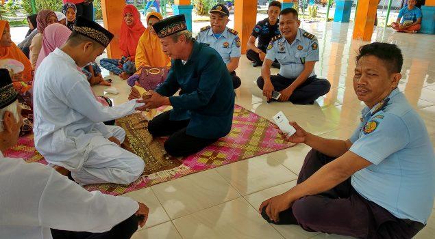 Tahanan Menikah, Petugas Rutan Raha Jadi Saksi