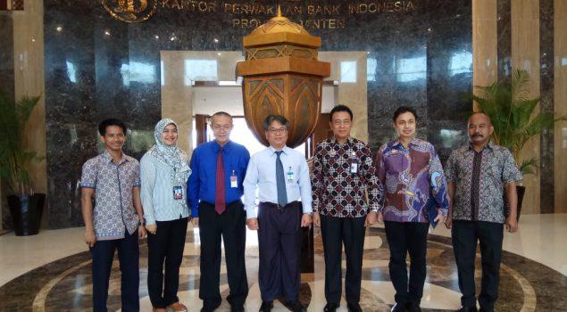 Kunjungi BI Banten, Karutan Rangkasbitung Bahas Kerja Sama Asimilasi WBP