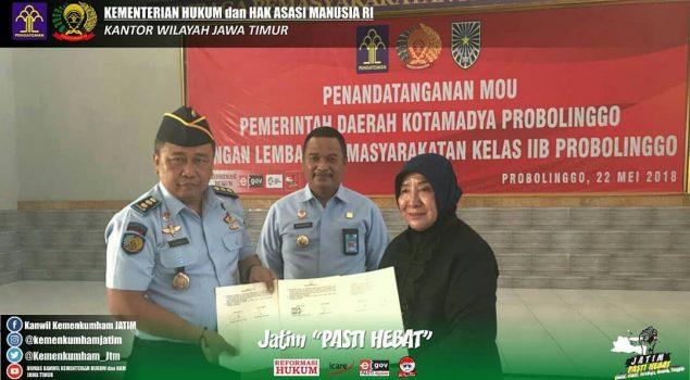Bina WBP, Lapas Probolinggo Gandeng Enam Instansi