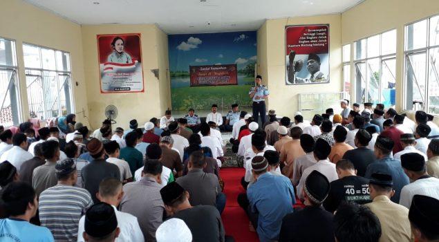 224 WBP Warnai Sanlat Ramadan di Rutan Rangkasbitung