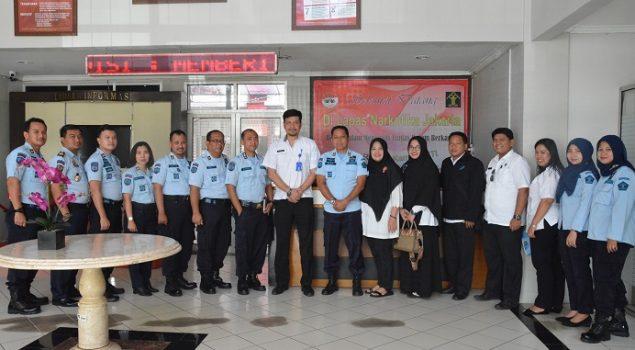 BNN & Balai Besar Rehabilitasi Lido Pelajari Kegiatan Vokasional di Lapas Narkotika Jakarta