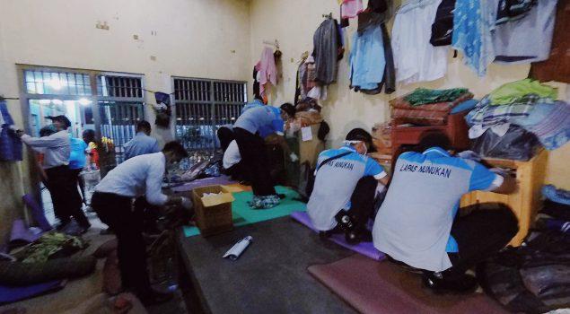 Razia Malam di Lapas Nunukan Berjalan Aman & Lancar