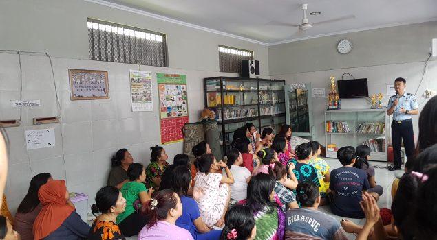 Bimbingan Konseling Bantu Kasus Hukum WBP Rutan Makassar
