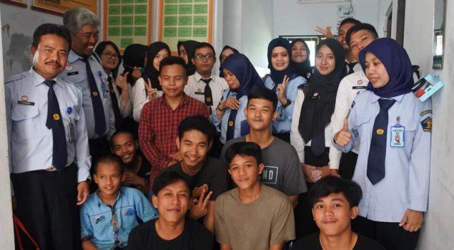 PK dan CPNS Bapas Bandung Monitoring ke Satpel PSRABH Subang