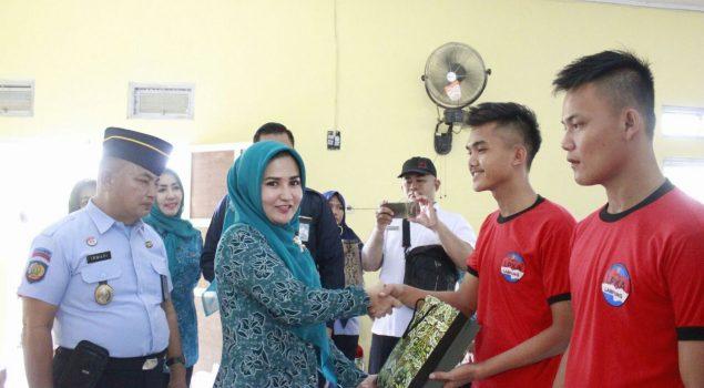 Anak LPKA Bandar Lampung Dapat Kado Spesial Hari Anak