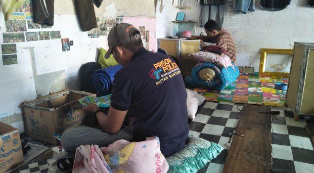 Petugas Rutan Bantaeng Kembali Geledah Blok Hunian WBP