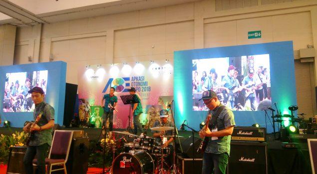 Band Lapas Narkotika Klas IIA Jakarta Pukau Pengunjung AOE 2018