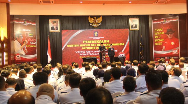 Menkumham: Integrity Is The Most Important Thing