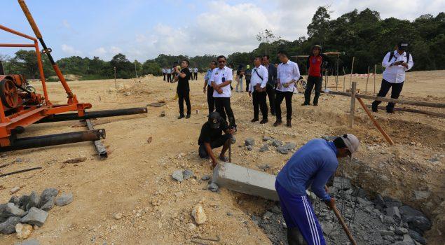 Sekretaris Ditjen PAS Pastikan Pembangunan Lapas High Risk Nusakambangan Sesuai Target