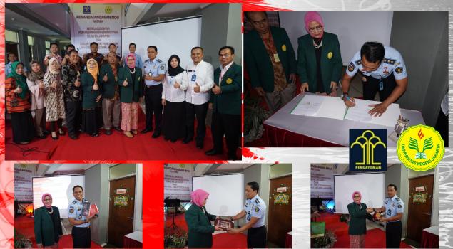 Lapas Nakotika Jakarta Jalin Kerja Sama Pendidikan dengan UNJ