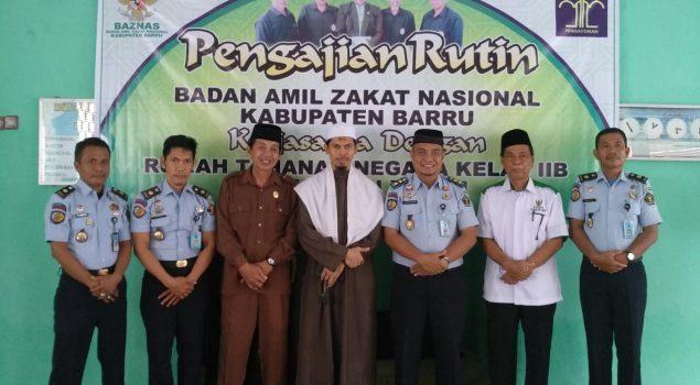 Dana Zakat Perkuat Program Pengajian WBP Rutan Barru
