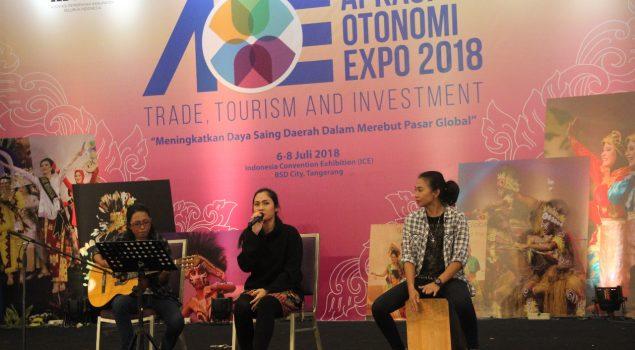 60 WBP Ramaikan APKASI Otonomi Expo 2018 Hari Kedua