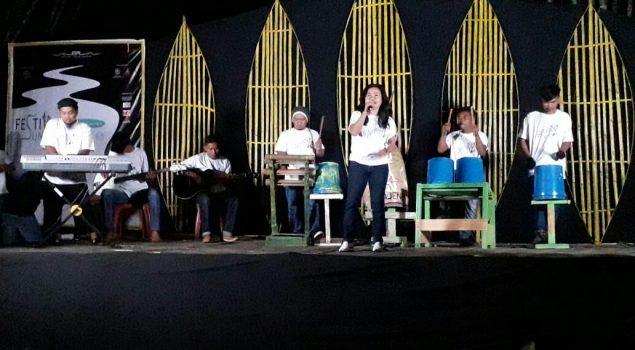 Antrabez Perkusi Meriahkan Festival Sungai Mandar ke-5