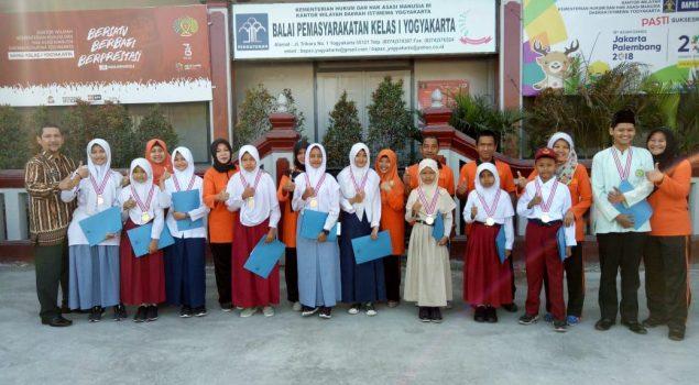 Bapas Yogyakarta Berikan Penghargaan bagi Anak Berprestasi
