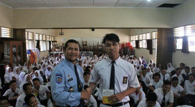 Kabapas Yogya Memotivasi Siswa Baru SMA Negeri 4 Ngaglik Sleman