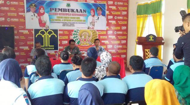 Rutan Pinrang Adakan Pelatihan Menjahit Bersama Disnakertrans & BLK Pinrang