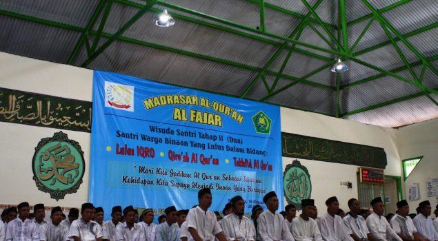 93 Santri WBP Lapas Yogyakarta Diwisuda