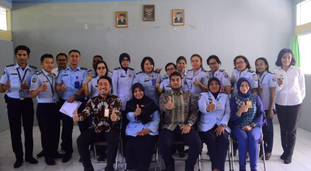 Bapas Ambon Jalin Kerja Sama dengan PT Taspen & Bank Mantap