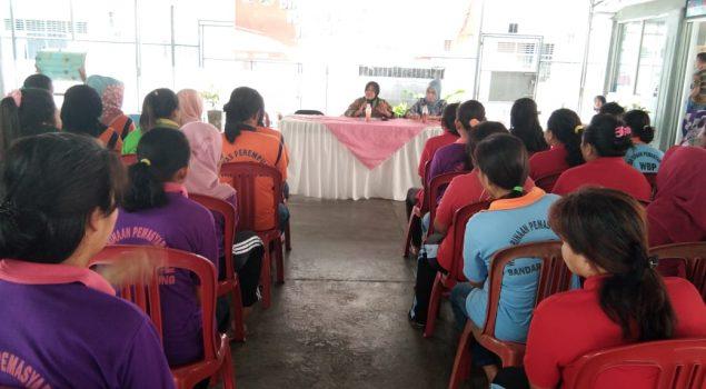 Kalapas Perempuan Lampung Ajak Petugas Berkomitmen Anti Narkoba