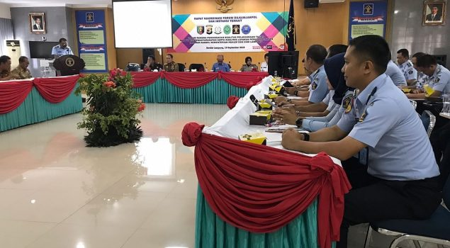 Tingkatkan Sinergitas, Kalapas Gunung Sugih Ikuti RAKOR DILKUMJAKPOL Lampung