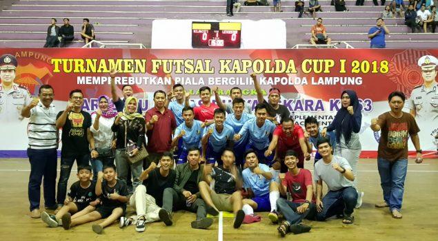 Tim Futsal Kanwil Lampung Tekuk Tim Futsal Bea Cukai