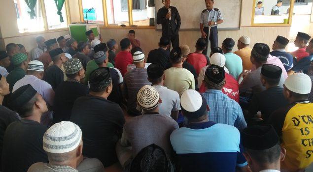 Rutan Bantaeng Bekali WBP dengan Pendidikan Agama Islam