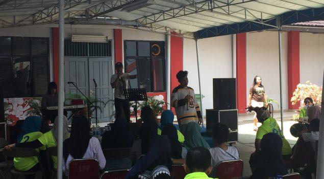 Jebolan The Voice Indonesia Hibur WBP LPP Jakarta