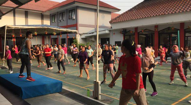 Senam Sore Segarkan WBP LPP Jakarta