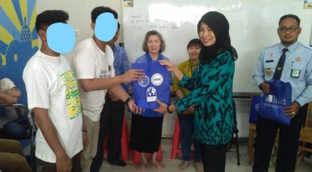 Anak LPKA Jakarta Ikuti Ujian Pijat Tingkat Profesional