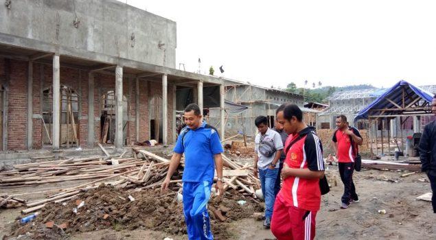 Ka. LPKA Ambon Pantau Pembangunan Kantor Baru LPKA Ambon