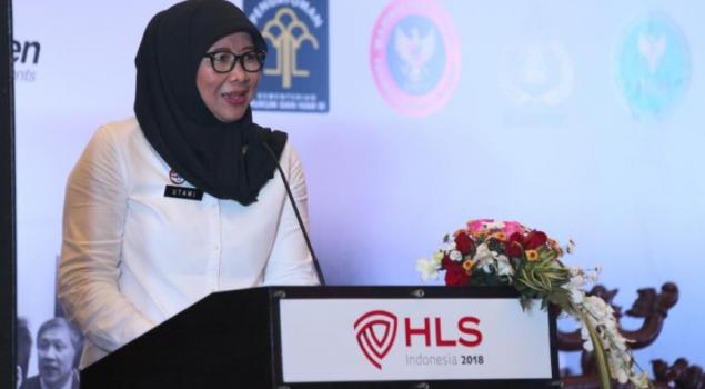 Dirjen Pemasyarakatan Jadi Keynote Speaker di Homeland Security Show 2018