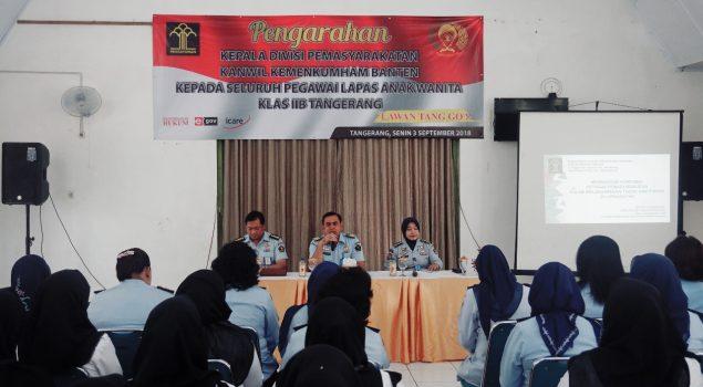 Kadiv PAS Banten Tuntut Profesionalisme Petugas