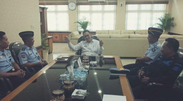 Karutan Wates Sambangi Pimpinan Pemkab Kulonprogo