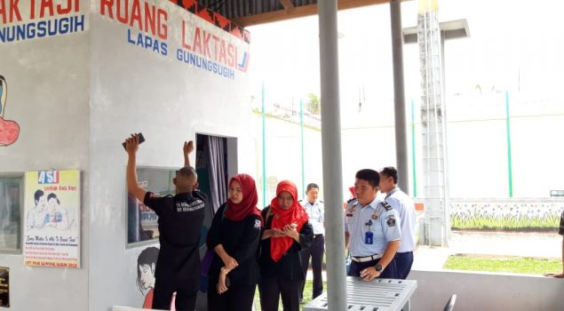 Tim penguatan TB HIV Ditjen Pemasyarakatan Jakarta Supervisi ke Lapas Gunung Sugih