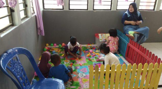 LPP Sungguminasa Ciptakan Ruang Kunjungan Ramah Anak