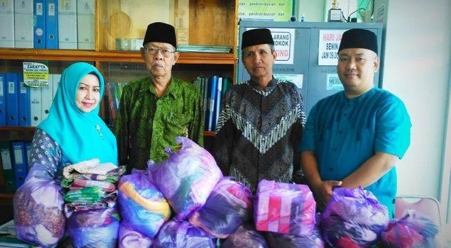 Rutan Pinrang Sumbang Pakaian Bekas & Alat Salat