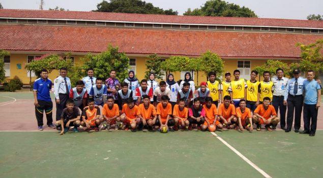 Latih Sportivitas, Anak LPKA Tangerang Sparring Futsal