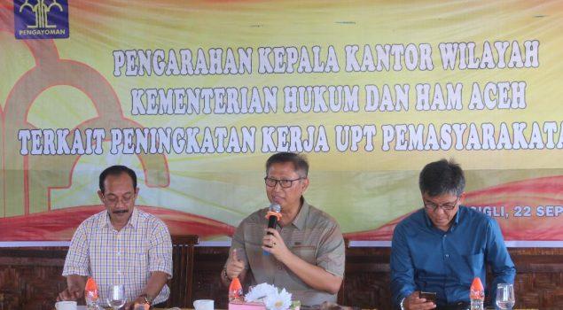 Gelar Pertemuan PIPAS Aceh, Ini Harapan Kalapas Perempuan Sigli