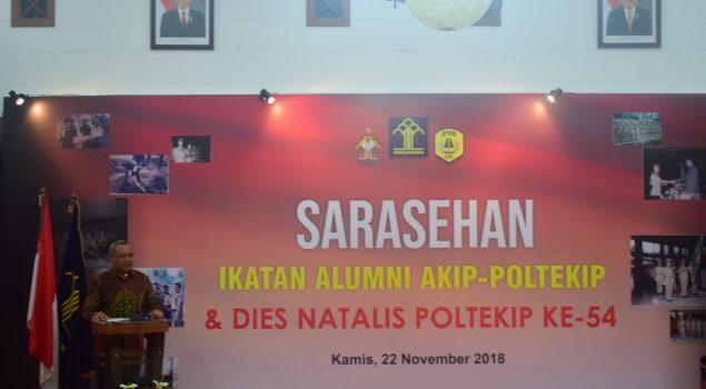 Pengukuhan IKA AKIP-POLTEKIP Salurkan Aspirasi & Pengabdian Alumni
