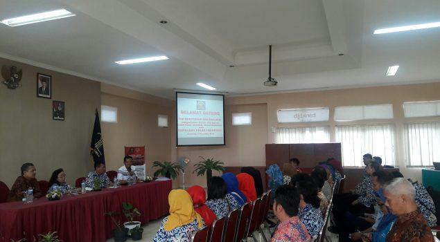 Ditjen PAS Pantau Pengelolaan Basan Baran di Rupbasan Bandung